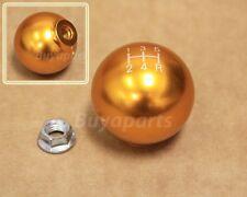 JDM Gold aluminum ball style 5 speed Shift KNOB for 1993-1997 Honda Del Sol 5SP