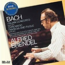 ALFRED BRENDEL - ITALIENISCHES KONZERT/CHROMAT.FANTASIE & FUGE/  CD JS BACH NEU