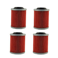 4pcs Oil Filter For Can-Am Outlander 400 500 570 650 800 800R EFI HO DPS XT X MR