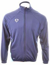 NIKE Mens Tracksuit Top Jacket UK 41/43 Large Blue Polyester  DE17