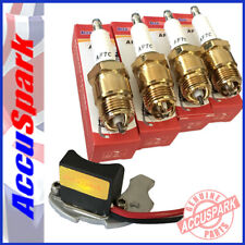Ford Capri Pinto Stealth electronic ignition + triple ground plugs for Bosch