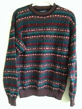 Men's Pendleton Wool Sweater Indian Multi-colored Ugly Christmas Sz M