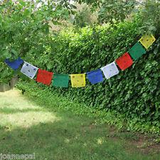 Banderas Tibetanas  50 banderas de 15 x 20