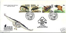 First Day Cover - Malaysia (1996) - Birds of Prey Stamps (4v) FDC
