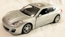 "RMZ City - 5"" Scale Model Porsche Panamera Turbo Silver (BBUF555002S)"