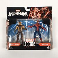 Action Figures Marvel Legends Homecoming Spiderman shocker twin pack  Hasbro