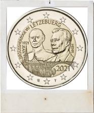 2 EURO *** Luxembourg 2021 *** 100 jaar/ans Jean - RELIEF !!!