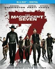 "The Magnificent Seven Blu-Ray ""Entertaining As Hell"" New Sealed"