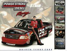FORD F150 F-150 POWER STROCKE RACING Motorsport Prospekt Brochure Sheet USA 30
