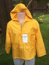 yellow raincoat 14 Fully Waterproof New with tags