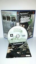 TOM CLANCY'S GHOST RECON - Ps2 Playstation Play Station 2 Gioco Game