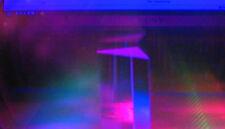 200 x 150 MM  FARBVERÄNDERNDE GLASSCHEIBE BLAU  -  LILA  TR   #RBLAU-TRANS-200