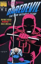 Daredevil #300 Very Fine / Near Mint (Vol 1 1963) Last 00004000  Rites Story Kingpin App