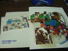 1979 USPS Mint Set of Commemorative Stamps - UNOPENNED!!