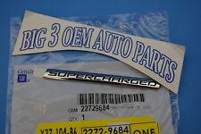 Chevrolet Cobalt Pontiac Pursuit Supercharged RH or LH EMBLEM new OEM 22729684