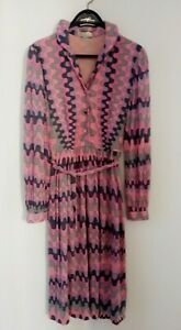 Kleid Emilio Pucci VINTAGE dress size M Cashmere-Silk Luxury Size 12