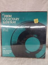 Focal 100 Rotary Slide Tray for slide Projector - - holds 2 X 2 slides - NEW