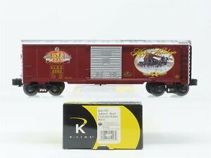 O Gauge 3-Rail K-Line K641-5603 SLRX Anheuser-Busch Holiday Box Car #2002