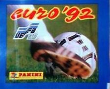 PANINI EURO 92 PACKET FROM BOX SWEDEN 1992 STICKER BUSTINE TUTE UEFA FOOTBALL