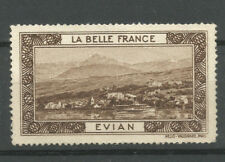 La Belle France poster stamp/label (Evian)