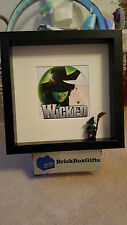 Wicked theatre west end  3d frame witch gift present defying gravity musical