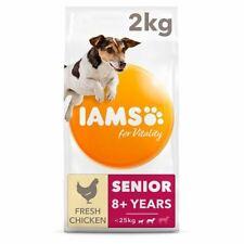 Iams Small Medium Senior Dog Food With Chicken 2Kg