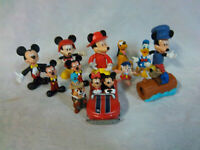 "Disney Mickey Mouse Donald Duck Pluto Figures 2-5.4"" Toy Cake Toppers"