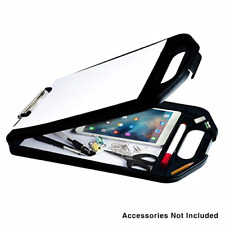 Plastic Storage Clipboard Handle Compartment Hold Heavy Duty Sturdier Smooth