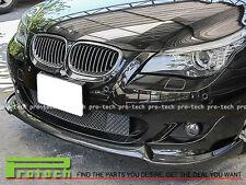 2004-2010 BMW E60 E61 M-Tech & M-Sport Only CF Front Bumper Lip Carbon Fiber HG