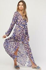 Womens Ladies Summer Maxi Dress Long Floral Boho Cover Up Holiday Beach Casual