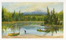 Katahdin country, Greeting Cards - Artwork by Maine artist, Jean McLean