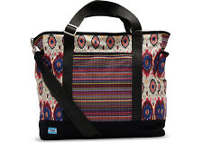 TOMS Diaper Bag - Multi Stripe Mix/ New with Defects.