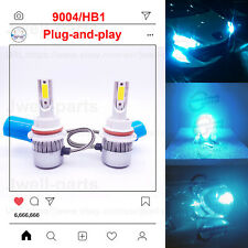 2020 NEW 9004 HB1 LED Headlights Bulbs Professional Kit 40W 3500LM 8000K Blue
