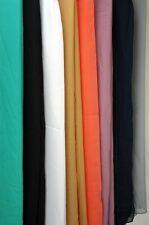 Ladies Silky Ciffon Plain Colour Scarfs in a Range of Colours