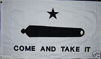 GONZALES GONZALEZ TEXAS COME AND TAKE IT FLAG 3x5 ft better quality us seller