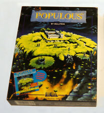 ★ POPULOUS ★ (Retrogame vintage - RPG - PC games)