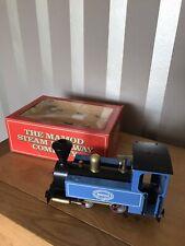Boxed Mamod Steam Railway Loco SL2 Blue New Condition