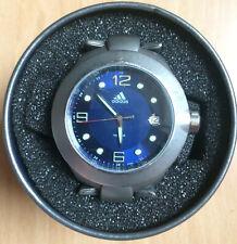Adidas Herren Armbanduhr 10-0152 aus Edelstahl mit Ziffernblatt Blau inkl. Box