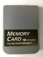 Performance Memory Card Playstation 1 PS1