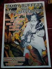 Jimmy Buffett And Coral Reefer Band Poster Key West 1977