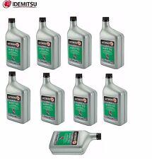 Set of 9 Quart Auto Trans CVT-N Fluid Oil Idemitsu for Nissan Mitsubishi Suzuki
