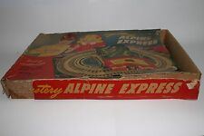 1950's Automatic Toy Co Alpine Express Trolley Set with Box