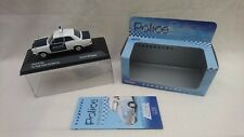VANGUARDS 1/43 VA08704 VAUXHALL VIVA AYR BURGH POLICE UNIT BEAT CAR WHT BLUE