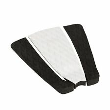 Surfboard Traction Pad Diamond Three Piece Black White Black | Skimboard