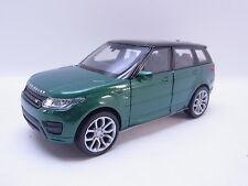 LOT 40762 | Welly Range Rover Sport grün-schwarz Modellauto 1:40 NEU