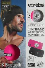 earebel Lifestyle Stirnband mit Integrierten Kopfhörern in Pink Neu