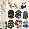 Pet Puppy Breathable Hawaii Vacation Summer Dog Cat T-Shirt Sleeveless Clothes