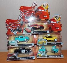 "Mattel Disney Pixars Cars ""CarsToon Rescue Squad Mater"" 5 Pc Complete Series Set"