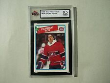 1988/89 O-PEE-CHEE NHL HOCKEY CARD #116 PATRICK ROY KSA 8.5 NM/MT+ 88/89 OPC