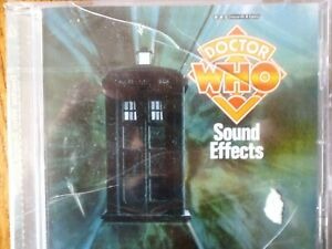 CD ALBUM - DR WHO - Sound Effects - Vintage Beeb - NEW